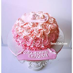 Pink beauty  - Cake by Shorna's Cake Corner