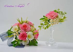 Bridal bouquet - Cake by Catalina Anghel azúcar'arte