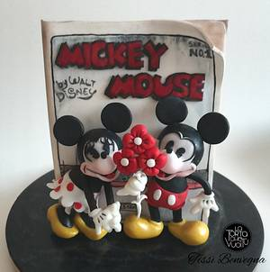Mickey Mouse first book - Comic Con collaboration - Cake by Tissì Benvegna