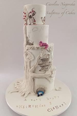 Alice in Wonderland Cake - Cake by Caroline Nagorcka