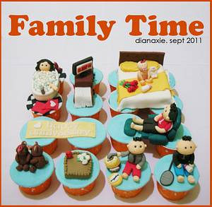 Family Time - Cake by Diana