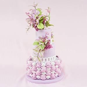 Mariposa Lily Cake Spray - Cake by Bobbie