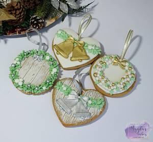Christmas cookies - Cake by Magda's Cakes (Magda Pietkiewicz)