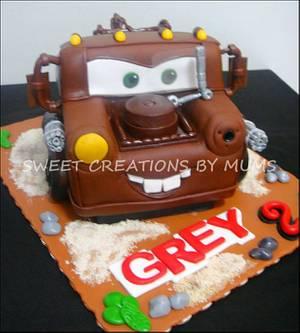 3D Mater Themed Cake  - Cake by Jo-ann M. Tuazon