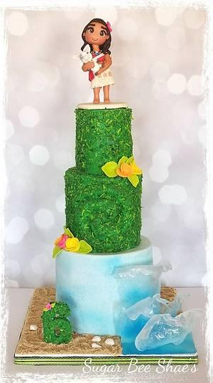 Moana - Cake by SugarBeeShaes