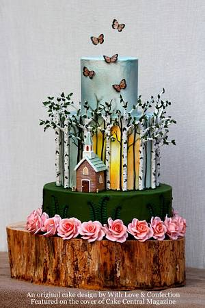 My First Cover Cake  - Cake by With Love & Confection