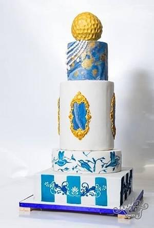 Fantasy weddinng cake - Cake by Muskaan - Cut The Cake India