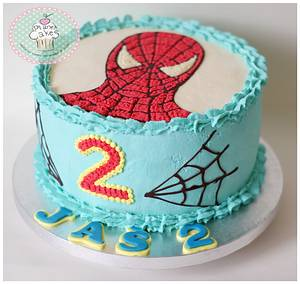 Spiderman - Cake by Planet Cakes