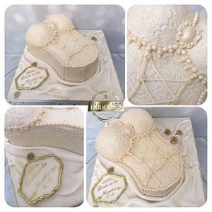 Precious corset cake  - Cake by Taartjes Toko