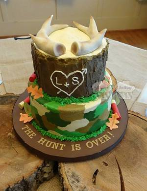 The Hunt Is Over - Cake by Susan