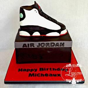 Air Jordan Shoe - Cake by Elizabeth