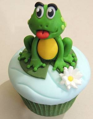Little Frog - Cake by Shereen