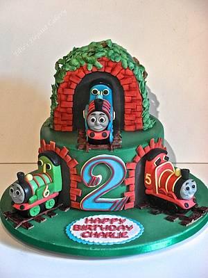 Thomas and friends x - Cake by Ellie @ Ellie's Elegant Cakery