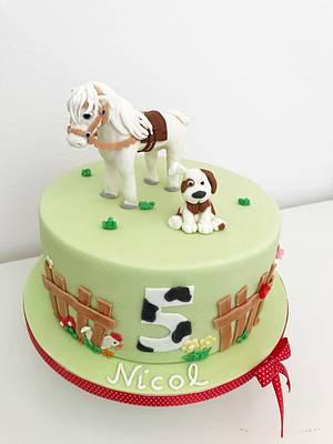 Horse cake - Cake by Dasa
