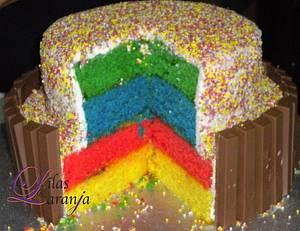 Mixing ideas - Cake by Lilas e Laranja (by Teresa de Gruyter)