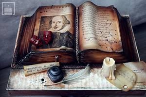 Shakespeare  - Cake by Lorita