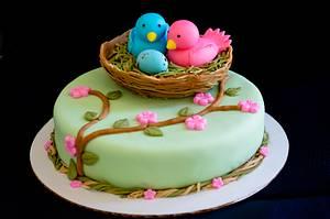 Baby shower cake - Cake by Rakesh Menon