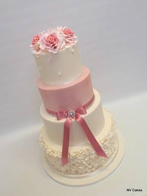 Simple Elegance - Cake by Nikki