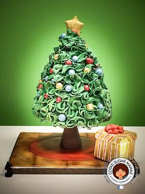 No Peeking - CPC Christmas Collaboration - Cake by Isabelle (Cotati Sugar Mamas)