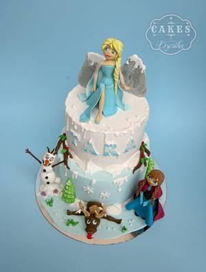 Frozen cake - Cake by Dzesikine figurice i torte