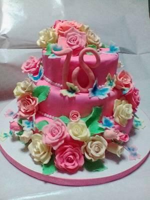Fiori - Cake by CakeMonica