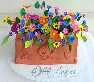 Sweet summer collaboration  - Cake by Divya iyer