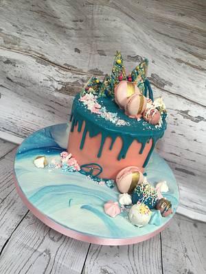 Drip cake - Cake by Buttercream Dreams