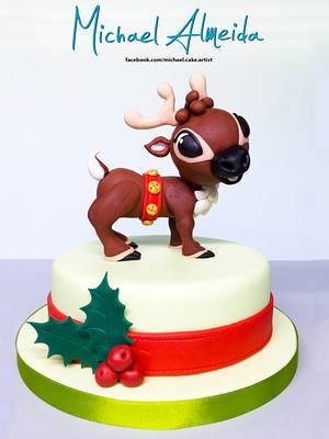 Happy The Reindeer - Cake by Michael Almeida