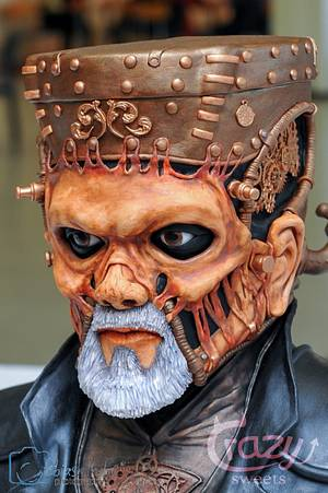 Steampunk Frankensteins Monster - Cake by Crazy Sweets