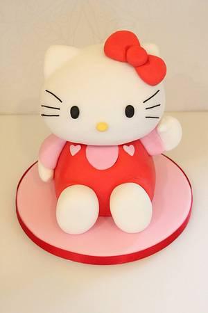 Hello Kitty cake - Cake by The Fairy Cakery