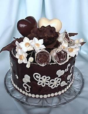 Beautiful Valentine's Day  - Cake by Zuzana Bezakova