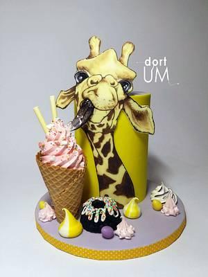 Giraffe... sweet lover - Cake by dortUM