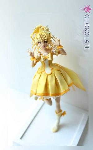 GlitterPeace Sculpted cake doll - Cake by ChokoLate