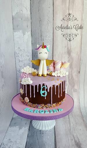 Cute unicorn cake - Cake by Aurelia's Cake