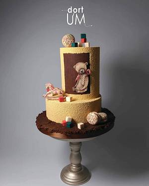Old toys love - Cake by dortUM