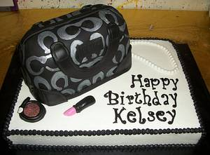 Coach Purse Cake - Cake by Tracy's Custom Cakery LLC
