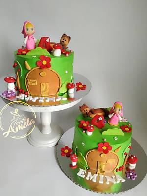 Similar masha and the bear cakes - Cake by Torte Amela