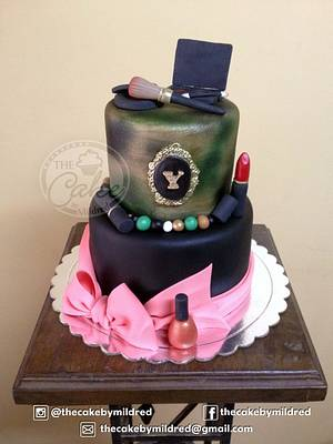 Makeup And Camouflage - Cake by TheCake by Mildred