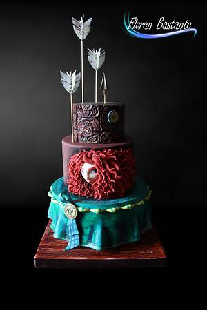 Mérida Brave Cake - Cake by Floren Bastante / Dulces el inflón
