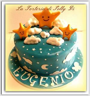 Twinkle twinkle little star... - Cake by La Torteria di Polly Dì