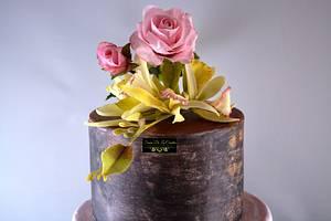 2 new flower bouquets  - Cake by Sonia de la Cuadra