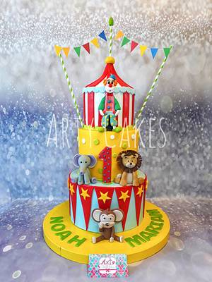 Circus  - Cake by Arty cakes