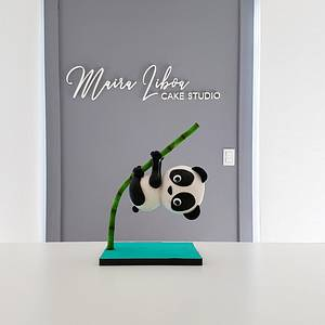 Panda  - Cake by Maira Liboa