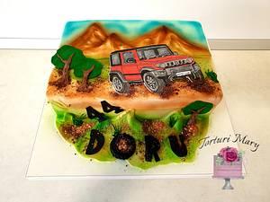 Jeep cake - Cake by Torturi Mary