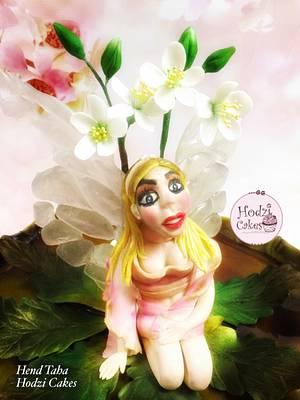CPC World Cancer Day Collaboration-Fairy woodland - Cake by Hend Taha-HODZI CAKES