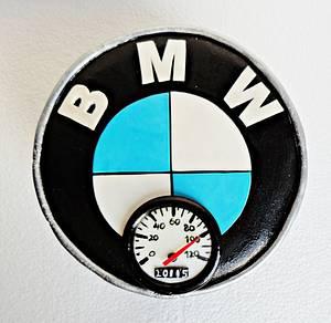 BMW Logo Cake - Cake by Princess of Persia