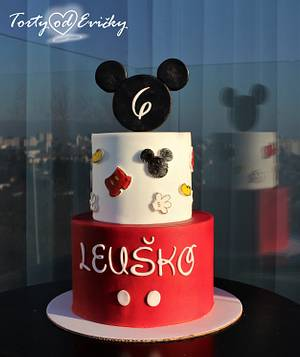 Mickey Mouse  - Cake by Cakes by Evička