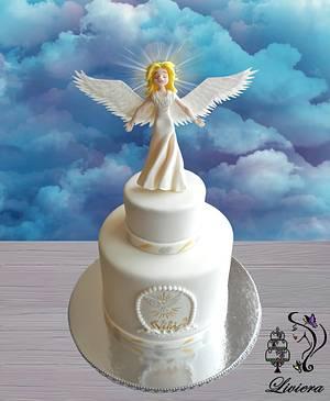 Angel - Cake by LiViera