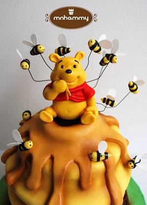 Winnie the pooh - Cake by Mnhammy by Sofia Salvador