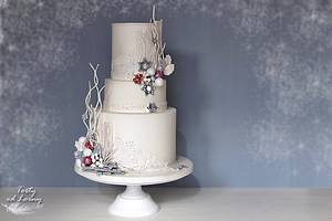 Christmas cake - Cake by Lorna